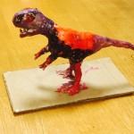 粘土による恐竜の作り方。低学年との作業をステップ解説